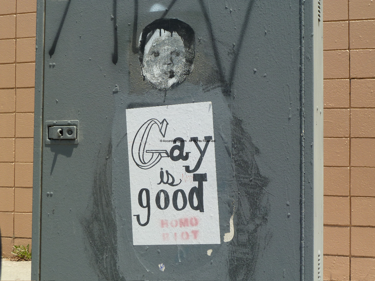 Gay is Good by Homo Riot